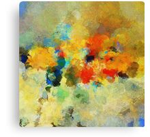 Colorful Abstract Art Canvas Print