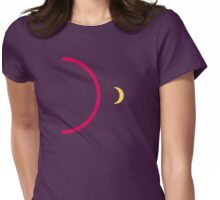 Lunar Park alternative book cover Womens Fitted T-Shirt