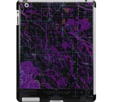 USGS TOPO Map Arkansas AR Holly Grove 260098 1974 62500 Inverted iPad Case/Skin