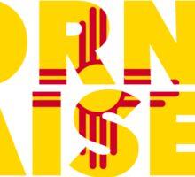 New Mexico - Born & Raised. Sticker