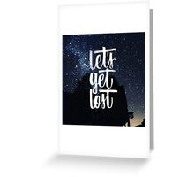 Stars quote 2 Greeting Card