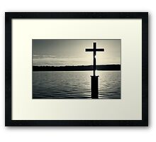 Memorial Cross King Ludwig II of Bavaria Framed Print