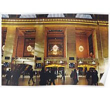 Grand Central Part Two - Tinted Poster