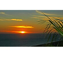 Sunset at Cabo San Lucas in Baja, Mexico Photographic Print