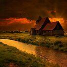 Sundown At St Thomas by Dave Godden