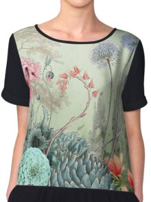 The garden of Marie Antoinette Chiffon Top