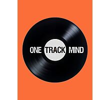I've Got A One Track Mind Photographic Print