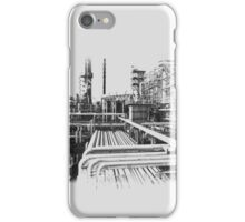 Old Refinery Industry Vintage Style T-Shirt iPhone Case/Skin