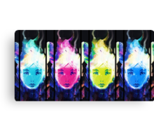 Space Girl I Canvas Print