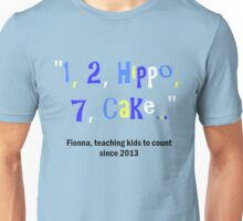 Adventure Time Fionna the human can't count Unisex T-Shirt