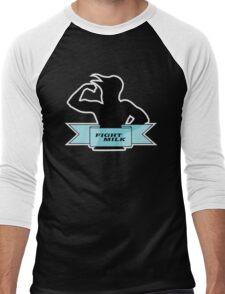 Fight Milk Men's Baseball ¾ T-Shirt