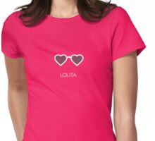 Lolita alternative movie poster Womens Fitted T-Shirt
