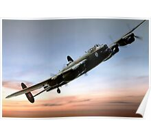 Canadian Lancaster Poster
