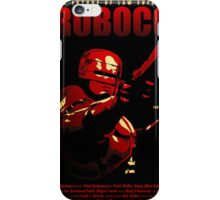 Robocop | alternative poster iPhone Case/Skin