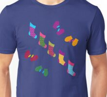 Stockings and Mittens Pattern Unisex T-Shirt