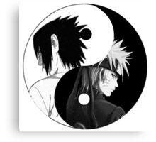 Naruto & Sasuke Canvas Print