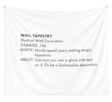 D&D Tapestry  Wall Tapestry