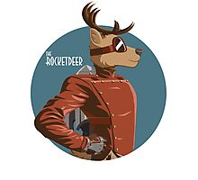 The Rocketdeer Bust Photographic Print