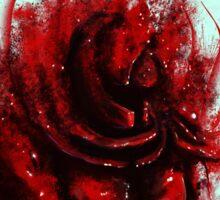 Blood Mist Warrior Sticker