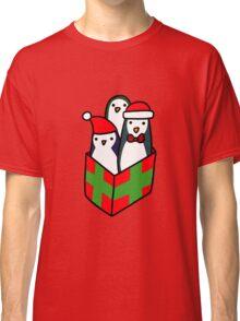 Christmas Gift Penguins Classic T-Shirt