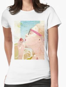Soap Bubble Womens Fitted T-Shirt