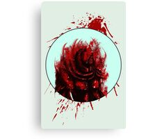 Blood Mist Warrior Canvas Print
