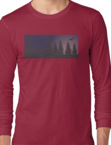 Bear in the forest Long Sleeve T-Shirt