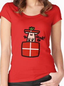 Piggy Gift Women's Fitted Scoop T-Shirt