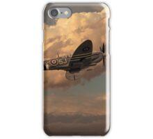 Supermarine Spitfire Mk LFIX  iPhone Case/Skin