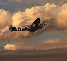 Supermarine Spitfire Mk LFIX  by J Biggadike