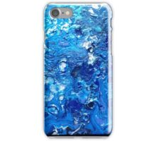 Abstract Blue Marble iPhone Case/Skin
