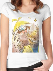 Hala good pals Women's Fitted Scoop T-Shirt