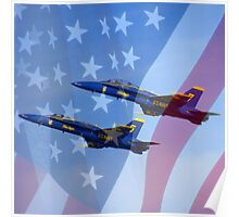 U.S. Navy Blue Angels Poster