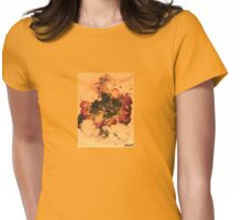 yello/orang/red Womens Fitted T-Shirt