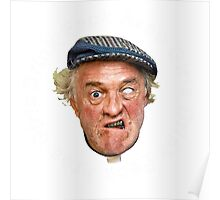 FATHER JACK FROM FATHER TED CRAGGY ISLAND Poster