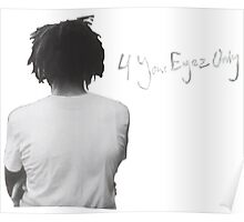 J. Cole - 4 Your Eyez Only Poster