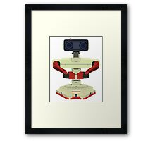 Robot R.O.B. Vector Framed Print