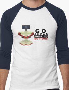 Robot R.O.B. Vector Men's Baseball ¾ T-Shirt