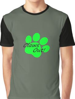 Miraculous Ladybug Chat Noir Claws Out! Graphic T-Shirt