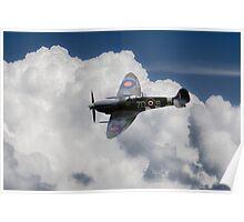 Spitfire Mk IXB  Poster