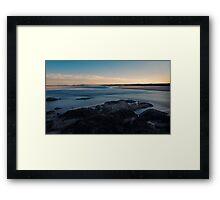 Sawtell at Dusk Framed Print