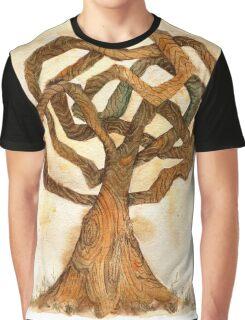 Labyrinth Tree Graphic T-Shirt