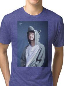 GEURAE WOLF NAEGA WOLF (exo sehun) Tri-blend T-Shirt