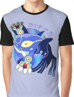 Primal Kyogre Graphic T-Shirt