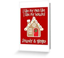 For ladies with gingervitis (Christmas) Greeting Card