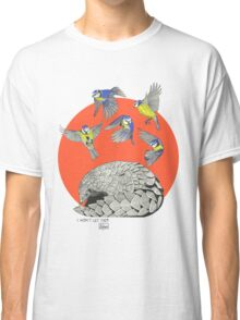 Pangolin and Birds Classic T-Shirt