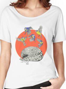 Pangolin and Birds Women's Relaxed Fit T-Shirt