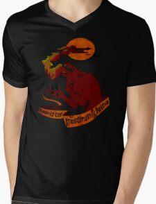 Human Heart, Monster Soul Mens V-Neck T-Shirt