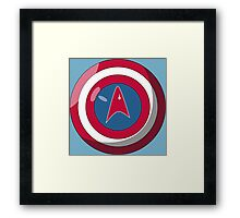 Captain Federation Framed Print