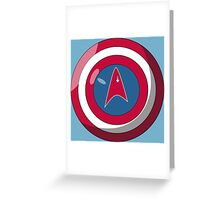 Captain Federation Greeting Card
